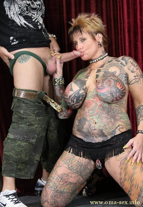 Extreme tattoo and piercing porn