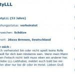 Geile Oma sucht Seitensprung in Bremen