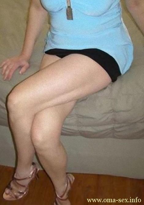 Junggebliebene Oma sucht Sexbeziehung